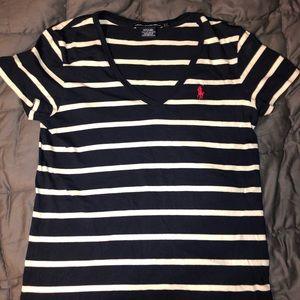 Polo by Ralph Lauren • Women's striped polo shirt